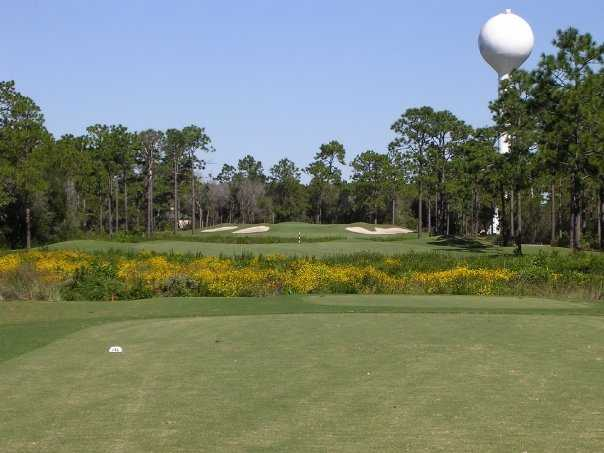 A view of green #16 at St. James Bay Golf Club