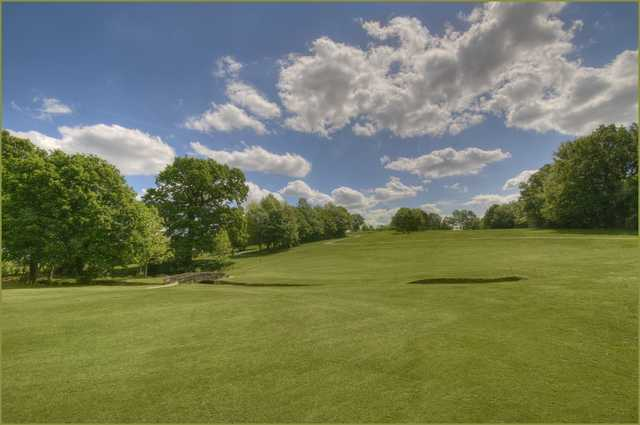 The Bearsted golf course