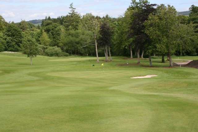 Approaching the green at Minto Golf Club