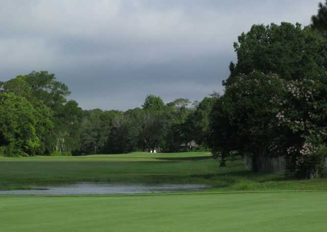 A cloudy view from Casselberry Golf Club
