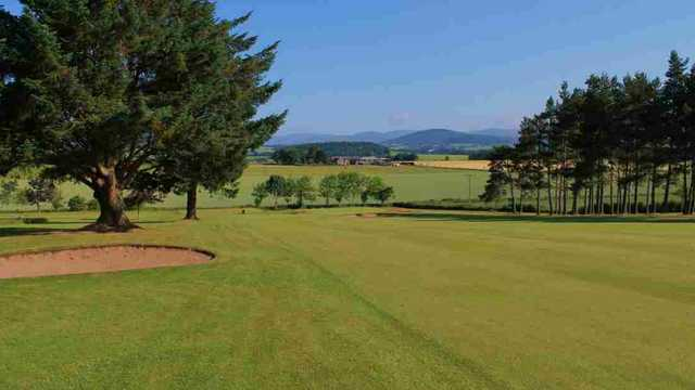 4th hole at Kirriemuir