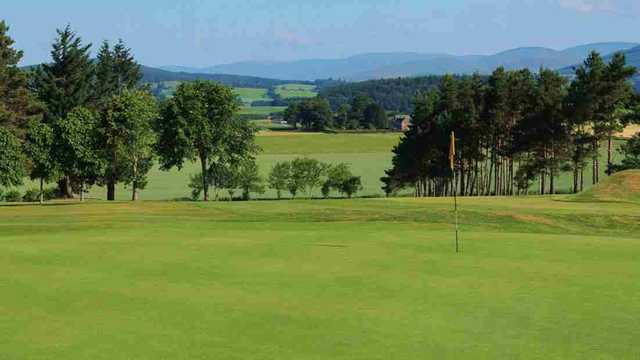 6th hole at Kirriemuir
