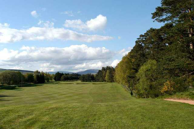 Fairway to the 15th hole at Edzell Golf Club