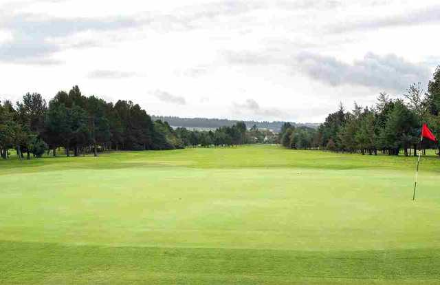 The 18th hole at Inverness Golf Club