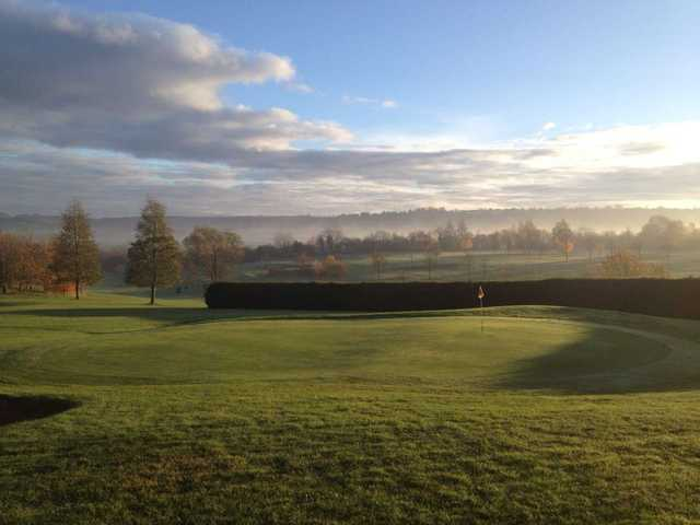 A look at the well-manicured greens at Princes Risborough Golf Club