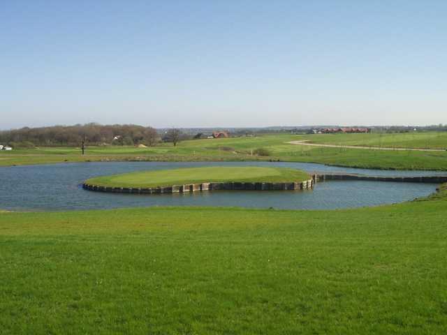 Island green at Blakes Golf Club
