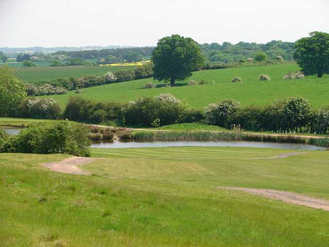 The 18th tee on Blakes