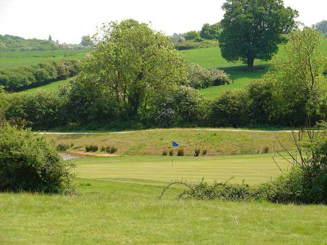 The 17th hole at Blakes GC