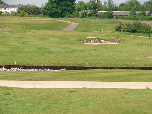 The 7th hole at Blakes GC