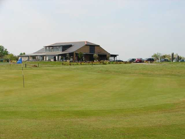 The clubhouse at Blakes GC