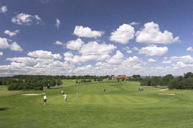 View from Thornbury Golf Centre