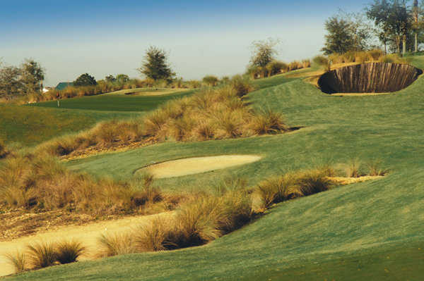 Bunkers at Mystic Dunes Golf Club