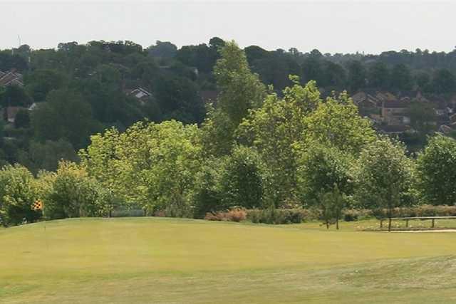 1st hole on the Brampton Heath