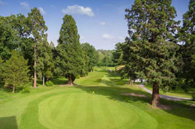 The 9th hole at Fichley GC
