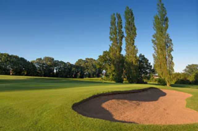 Sand bunkers at Fichley GC