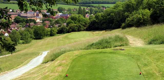View over the 5th hole at Flackwell Heath Golf Club
