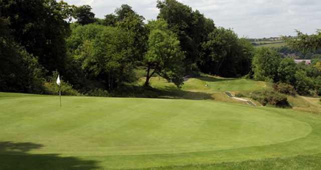 The 8th hole at Flackwell Heath Golf Club