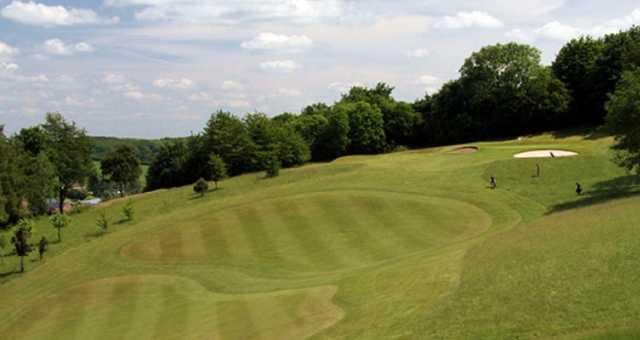The 4th hole at Flackwell Heath Golf Club