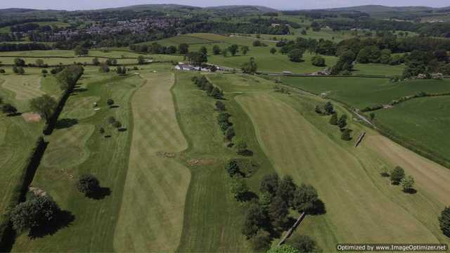 Aerial view from Casterton Golf Club