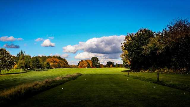 The Feldon Valley golf course