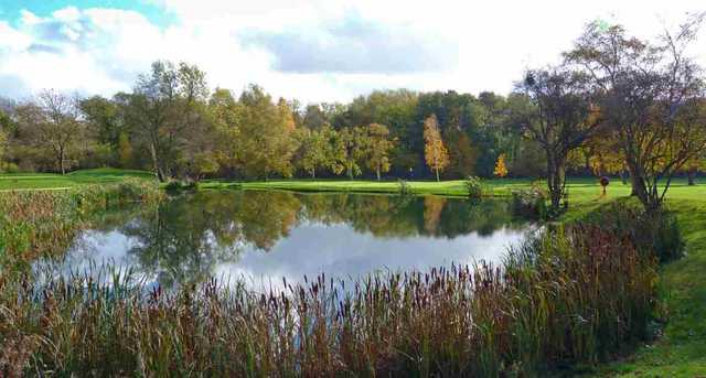 Lake view at Shirley Golf Club