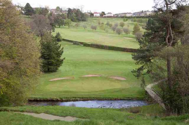View of the 12th hole at Dalmuir Municipal Golf Course