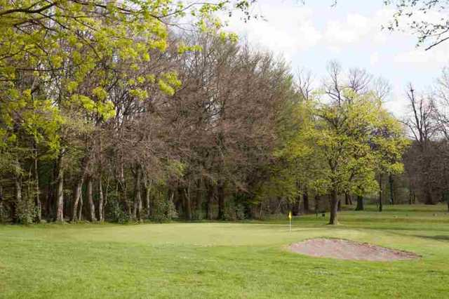 View of the 6th hole at Dalmuir Municipal Golf Course