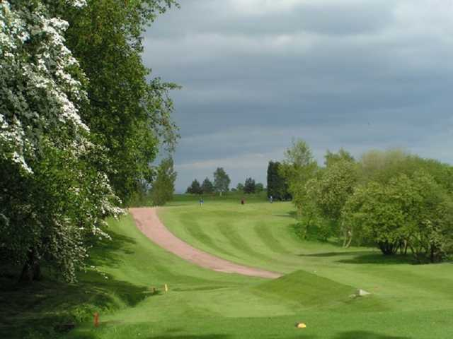 View from Ashton-in-Makerfield Golf Club