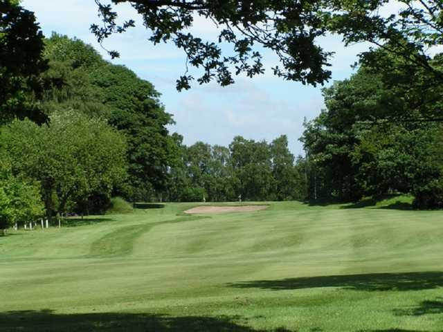 A view from Ashton-in-Makerfield Ashton-in-Makerfield Golf Club