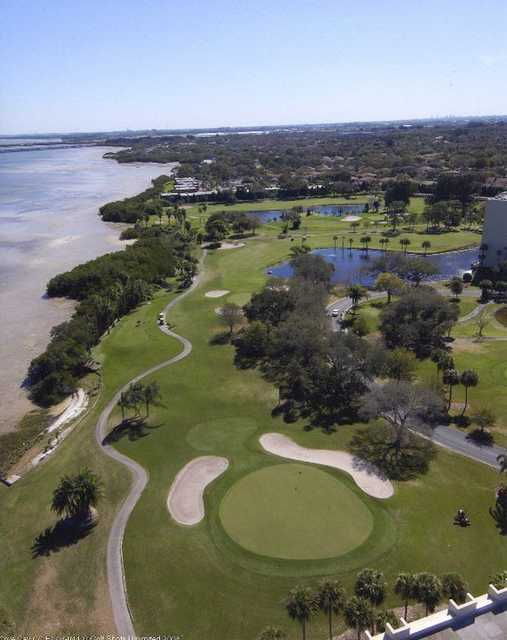 Aerial view from Cove Cay Golf Club