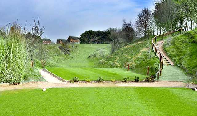 The 2nd hole at Dukinfield Golf Club