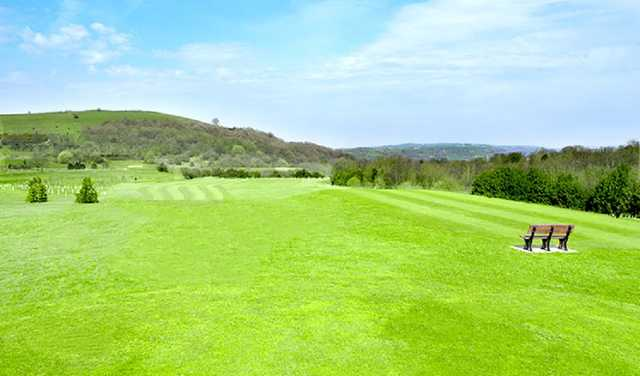 The 11th hole at Dukinfield Golf Club