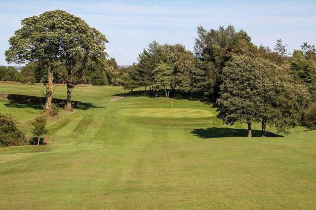 Approach to a hole on the Skipton golf course