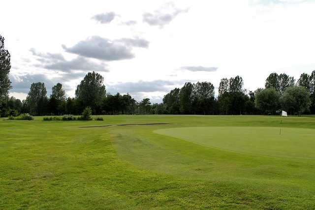 A view of the parkland Drax golf course