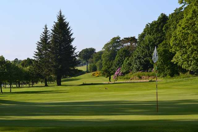 The beautiful parkland course at Largs golf course