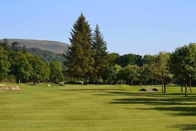 The Pro golf day at Largs golf course