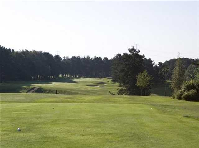 The 17th fairways at Stockport