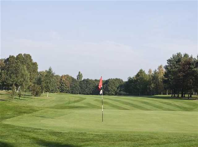 The 13th hole at Stockport