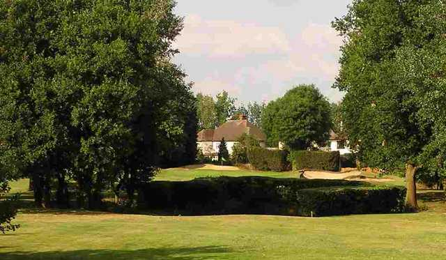 The 3rd hole at Romford Golf Club