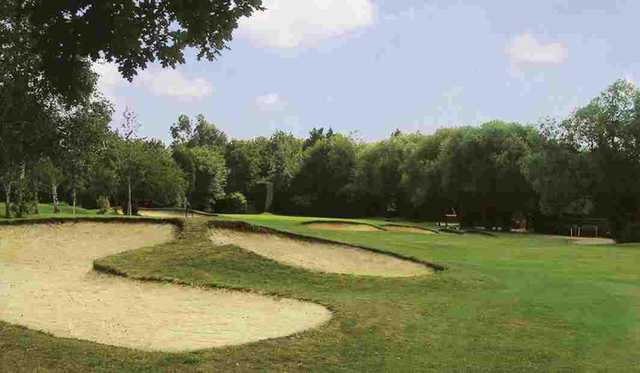 The 16th hole at Romford Golf Club