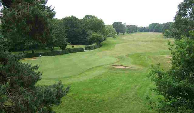 The 12th hole at Romford Golf Club