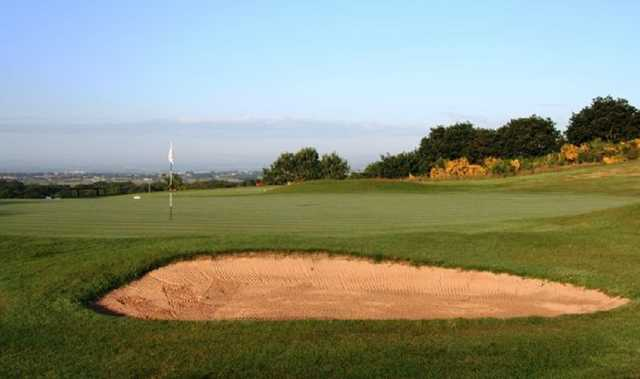 A bunker from Bolton Old Links golf course