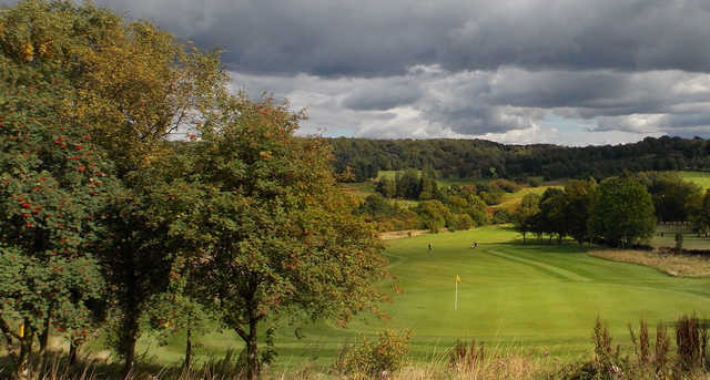 The 12th hole on Matlock golf course