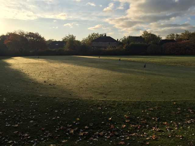 A view from The Bradley Park golf course