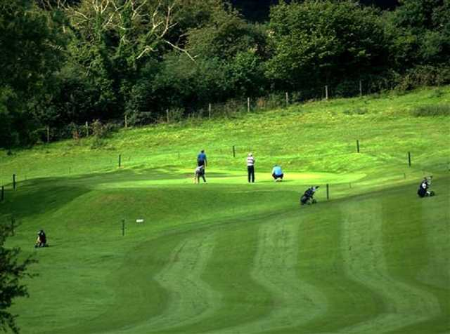 The putting greens of the Beverley and East Rising Golf Course