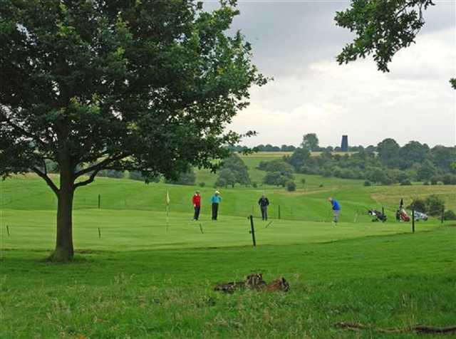 Playing golf on the Beverley and East Riding Golf Course
