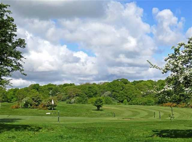 A beautiful view of the Beverley and East Riding golf course