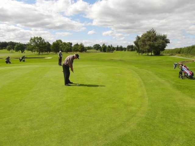 The 15th hole on Bernard Castle Golf Course