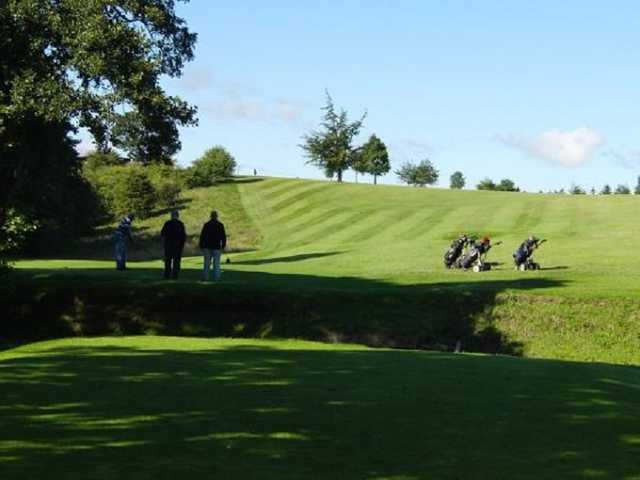 A view from Barnard Castle Golf Club