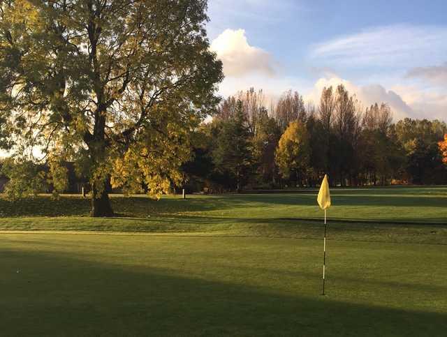 The Bradley Park parkland golf course